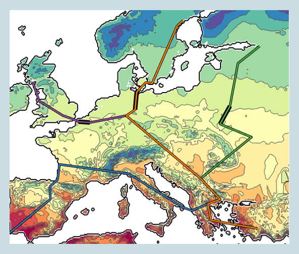 Climate and human dispersal